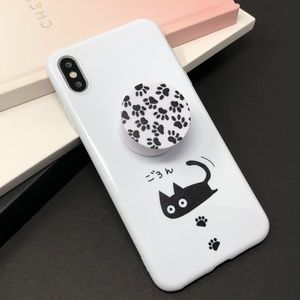 iPhone Scurry Kitty Case w/Pop Grip